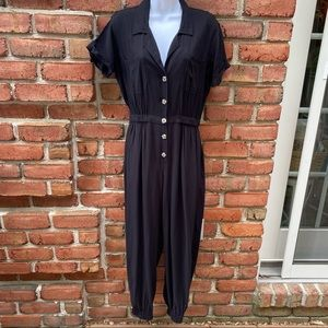 Wild Fable Black Jogger Pantsuit Small